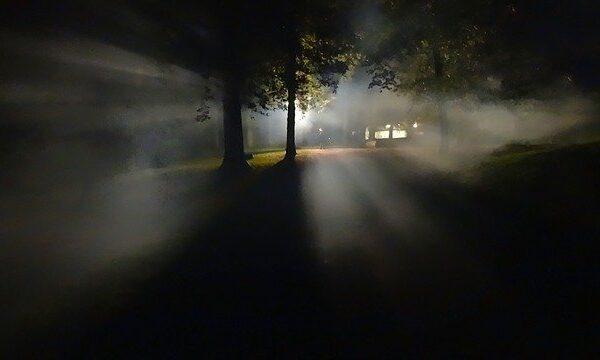 Eine Vision in der Nacht